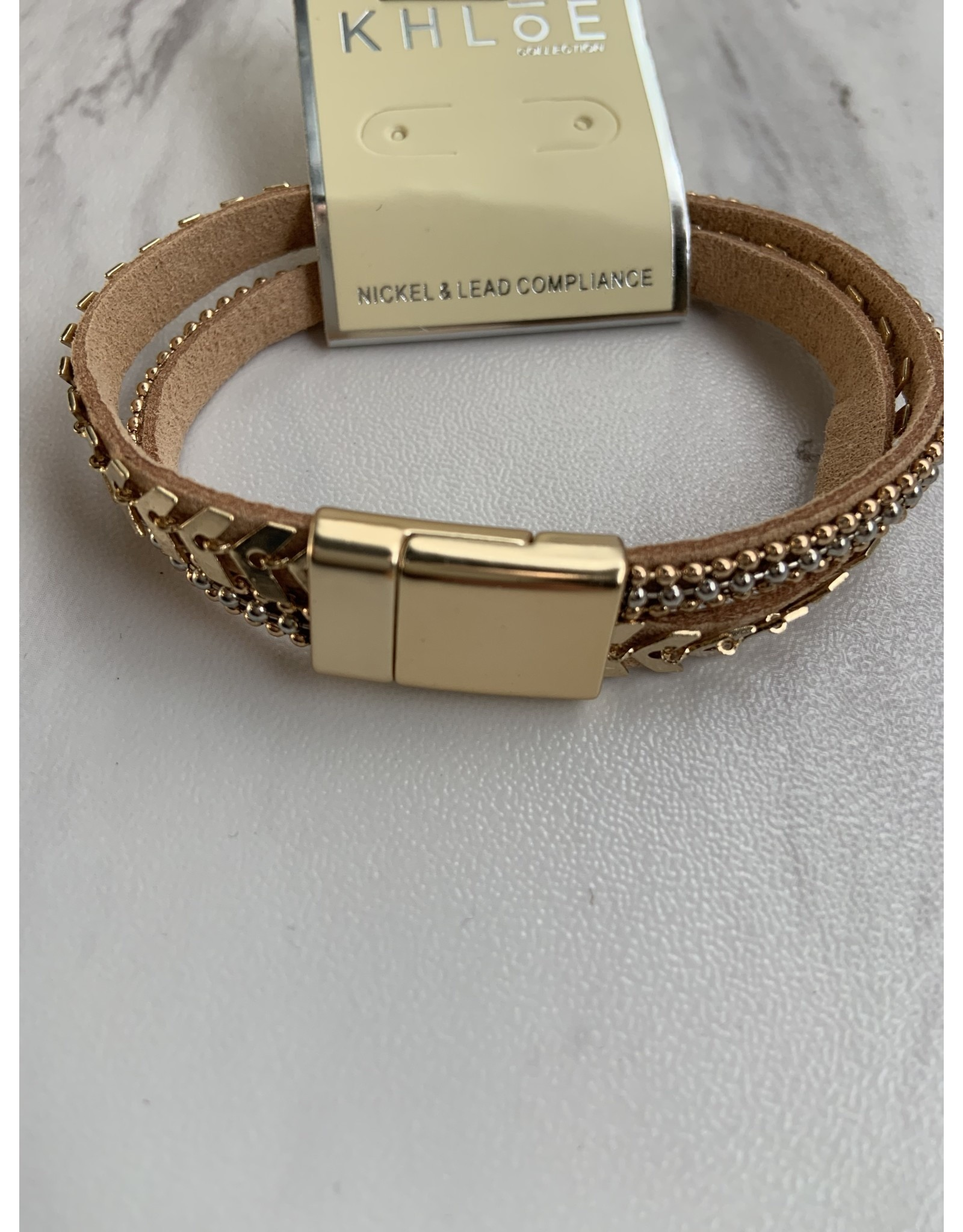 ELWIRA LEATHER BRACELET