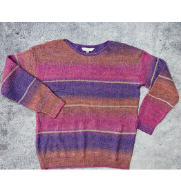 HALLAN BIG STRIPE SWEATER