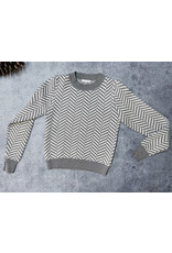 GABY CHEVRON SWEATER