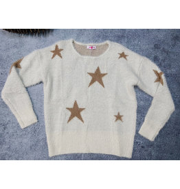 BUDDY LOVE SPEARS STAR PRINT SWEATER