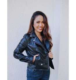BUDDY LOVE TRISH FAUX LEATHER JACKET