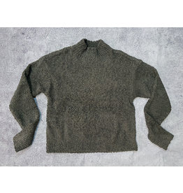 SANCTUARY TEDDY MOCK SWEATER