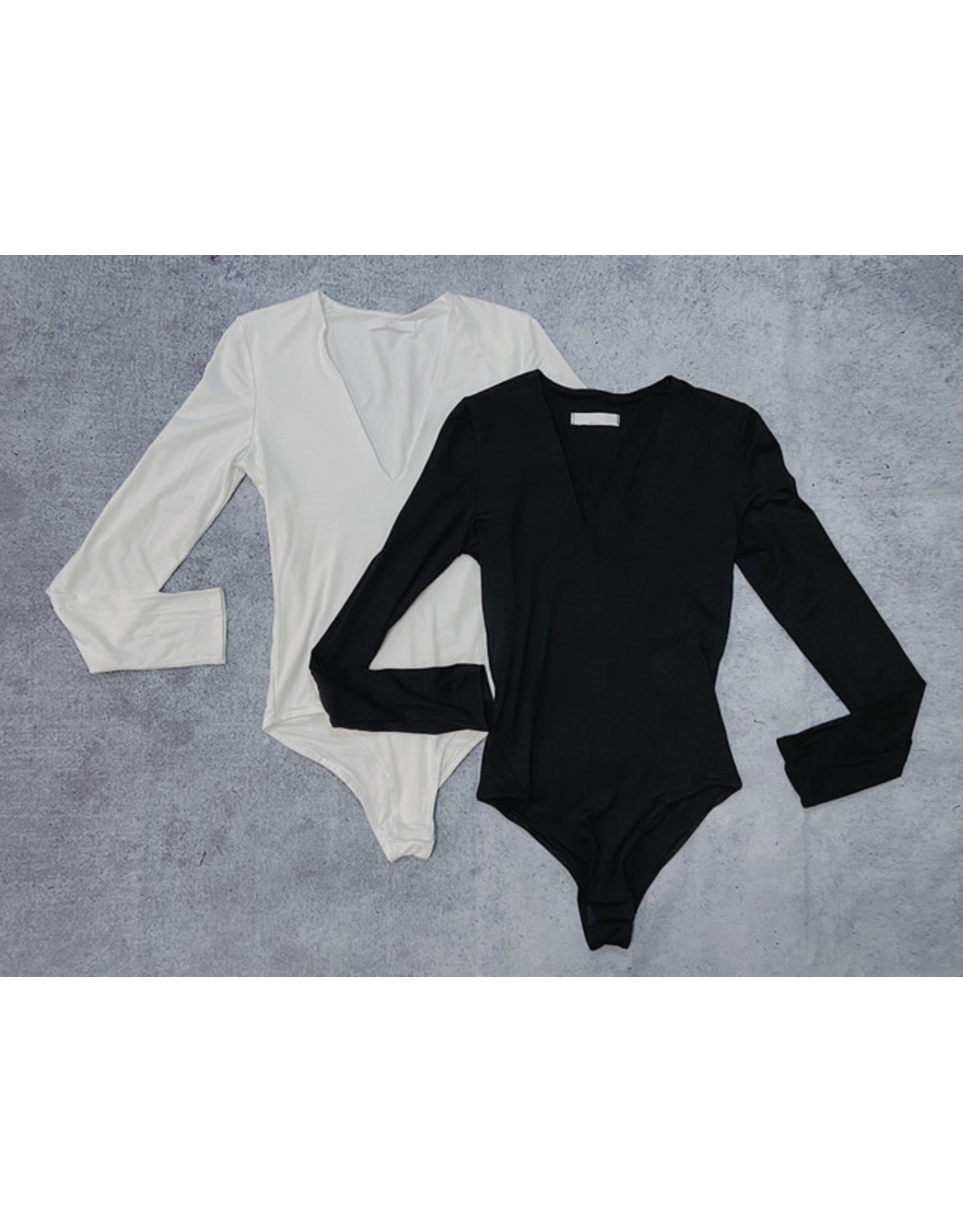 LONDYN V-NECK BODYSUIT