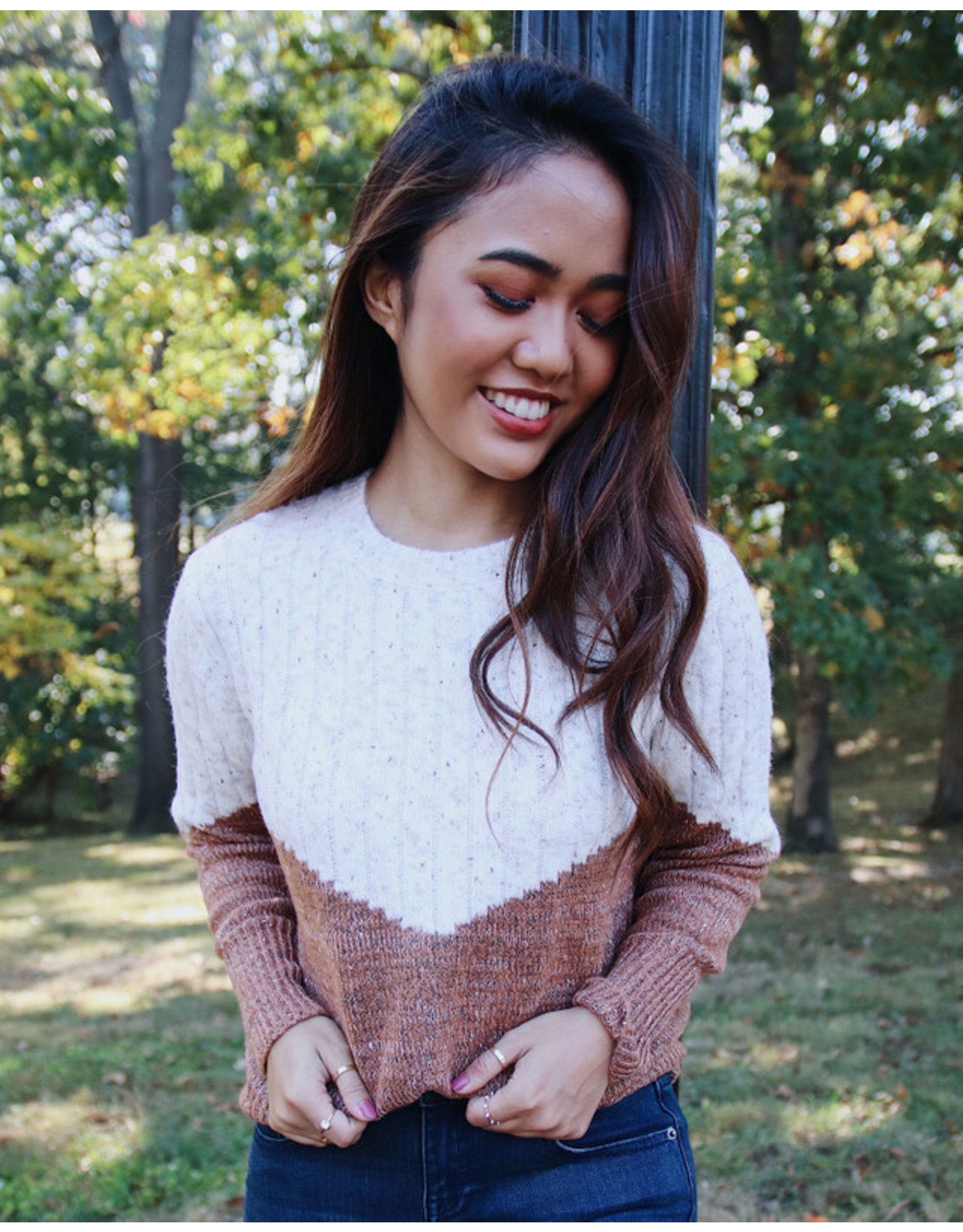 CUPCAKES AND CASHMERE FAITH SWEATER