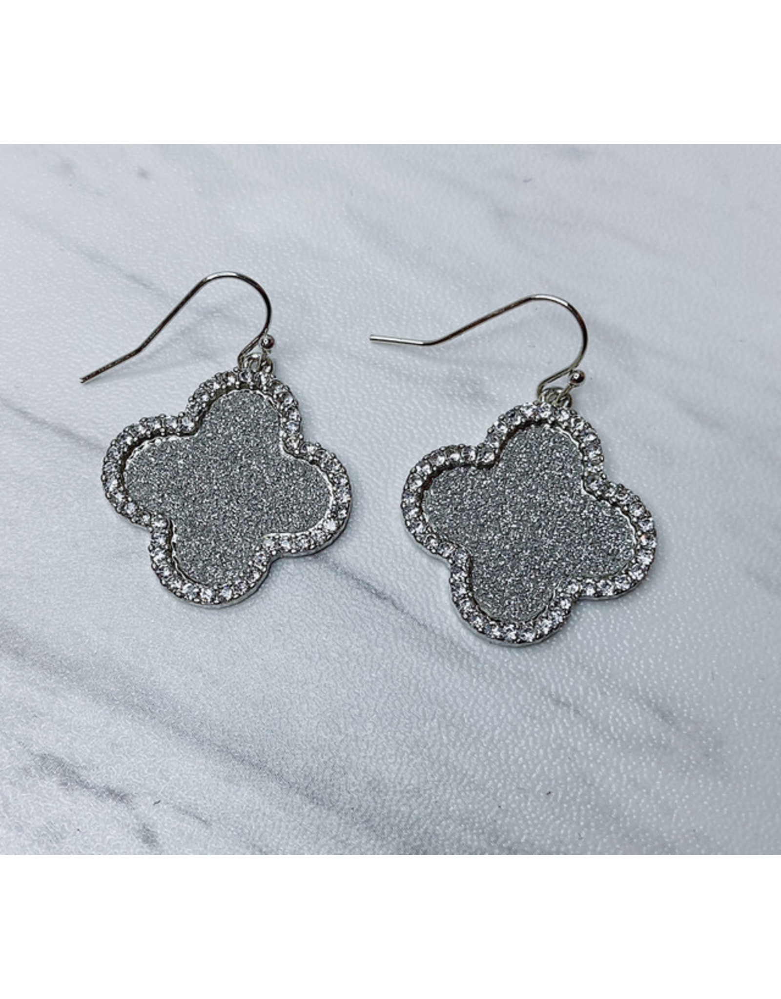 FADIA GLITTER PAVE EARRING