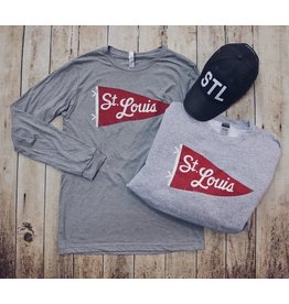 SERIES SIX STL PENNANT LONG SLEEVE TEE