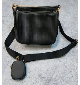 RADAMES DOUBLE BAG CROSSBODY