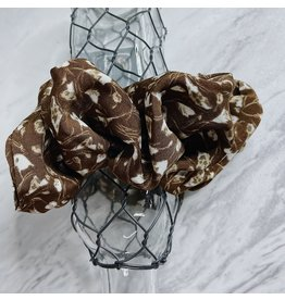 ODINA BROWN SCRUNCHIE