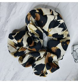 MACHIKO LEOPARD SCRUNCHIE