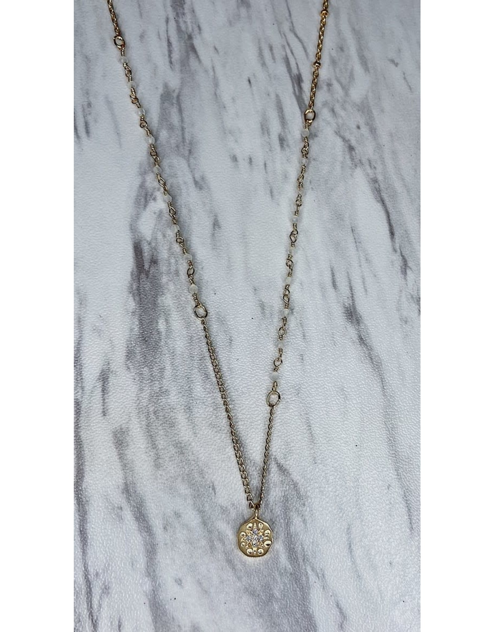 HADES PEARL DETAIL NECKLACE