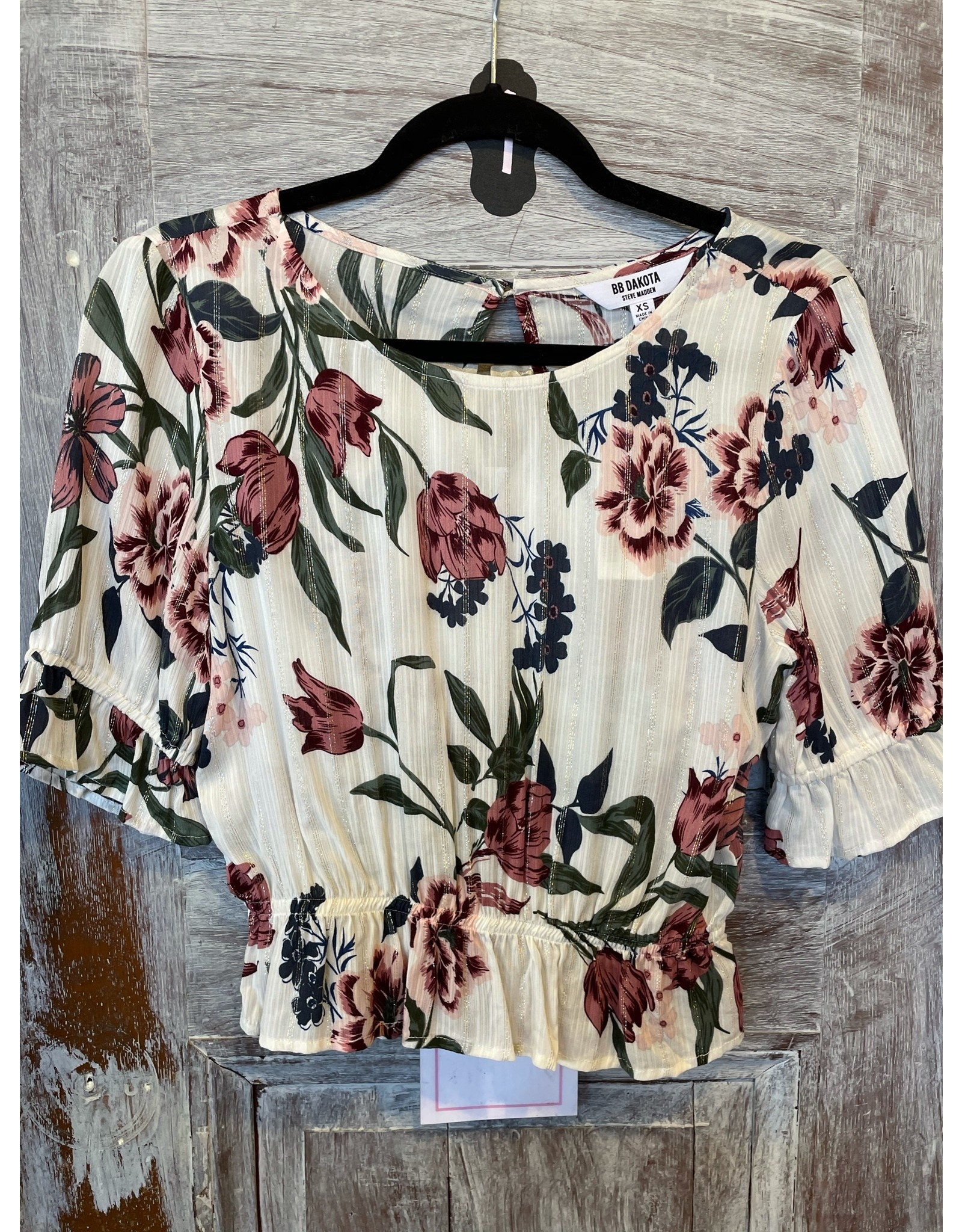 BB DAKOTA FLORAL OF THE STORY TOP