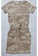 ELMO CAMO PRINT KNIT DRESS