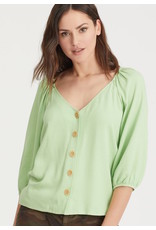 SANCTUARY BALWINA MODERN BUTTON FRONT TOP