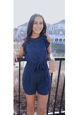 SEE YOU SOON MATHER PRINTED ROMPER