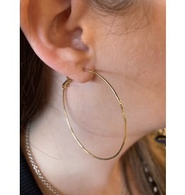 RUMO BIG HOOP EARRING