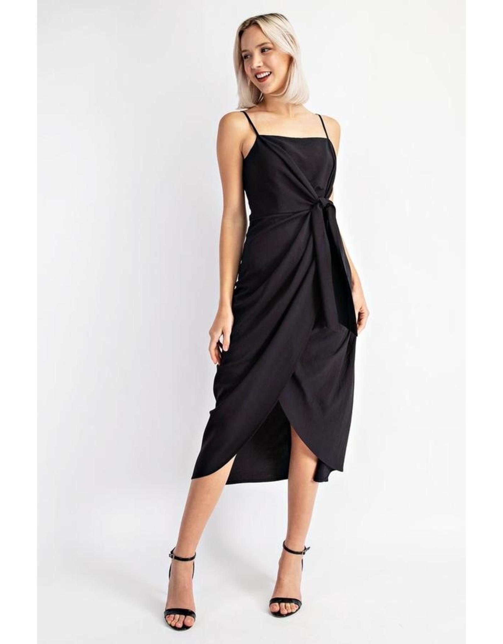 ARAGORN TIE FRONT DRESS