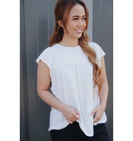 GENTLE FAWN BRITTANIA SHORT SLEEVE TOP