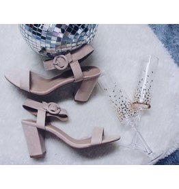 KARDEN ONE BAND ANKLE STRAP HEEL