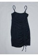 FALK SIDE RUCHING DRESS