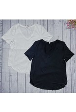 GENTLE FAWN LEWIS V NECK TOP