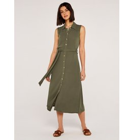 UKI MAXI SHIRTDRESS