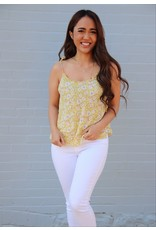 GENTLE FAWN ASTER FLORAL TOP