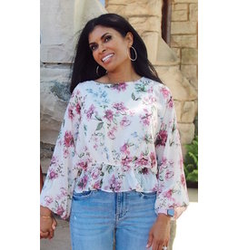 ALARIC FLORAL PRINT BLOUSE