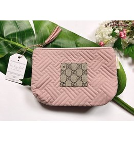 AVA BELLA DESIGNS MAKAYLA QUILTED MAKEUP BAG
