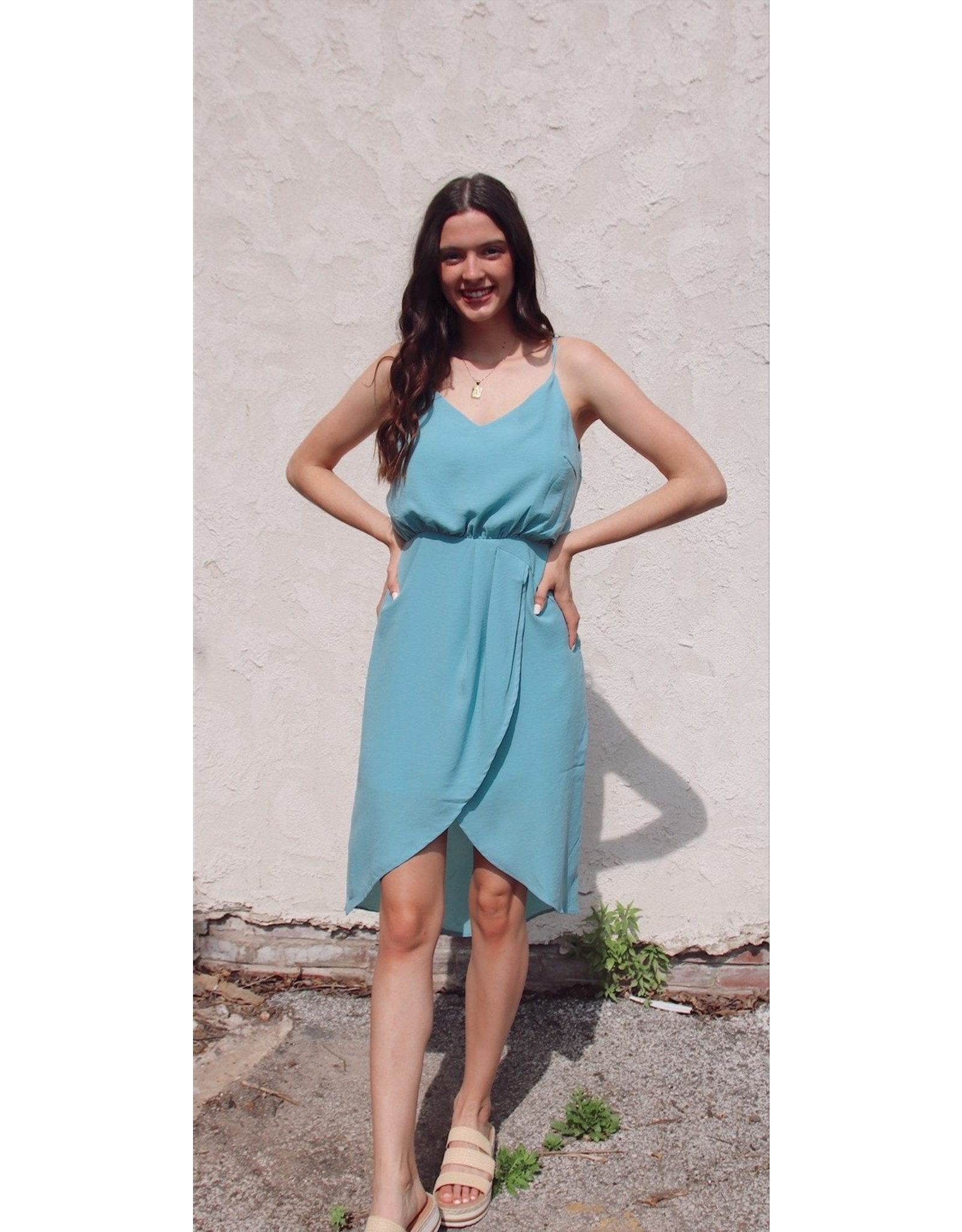 LALASA SLEEVELESS DRESS