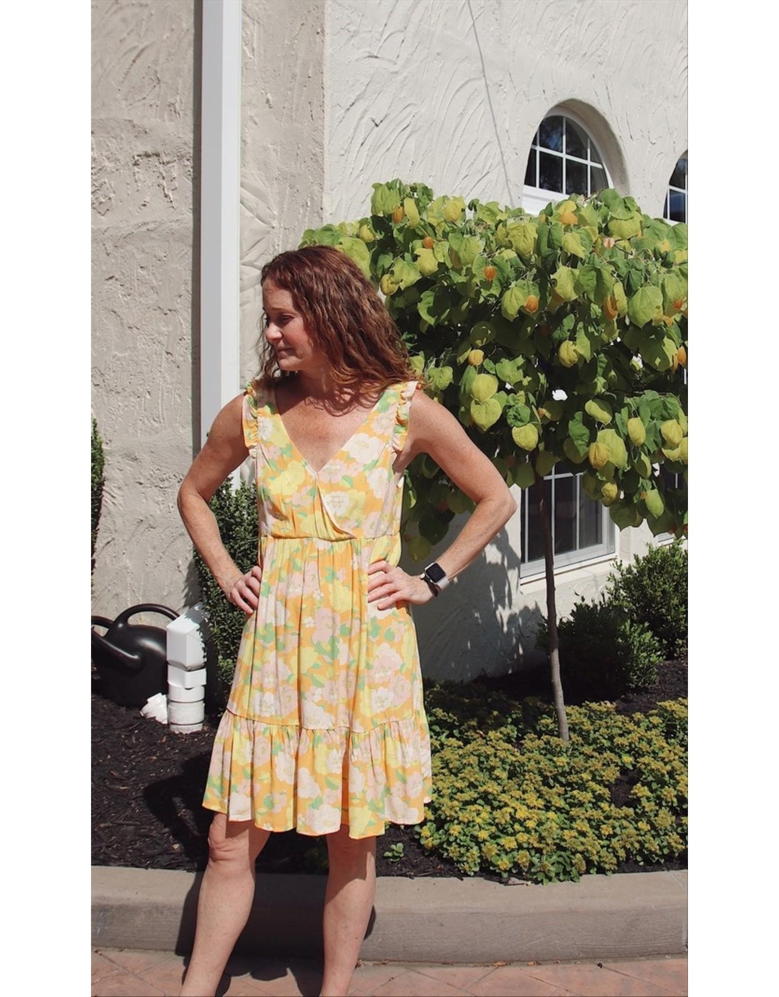 SANCTUARY CAREFREE BABYDOLL DRESS