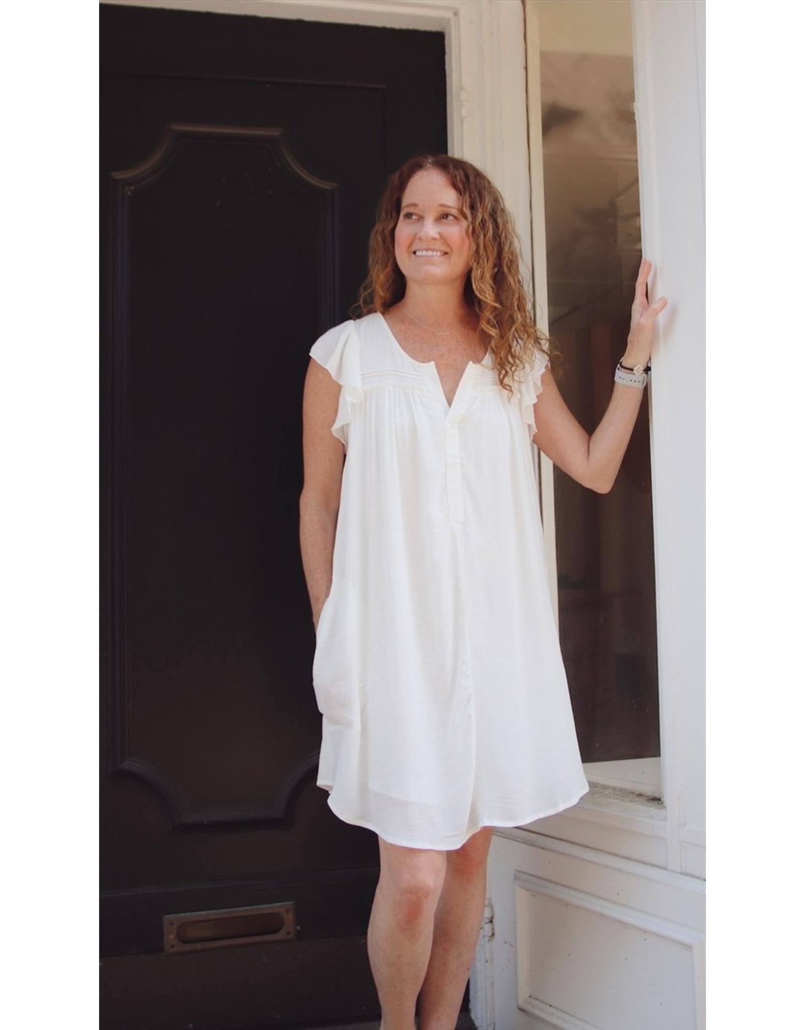GENTLE FAWN AUDREY SHORT SLV DRESS