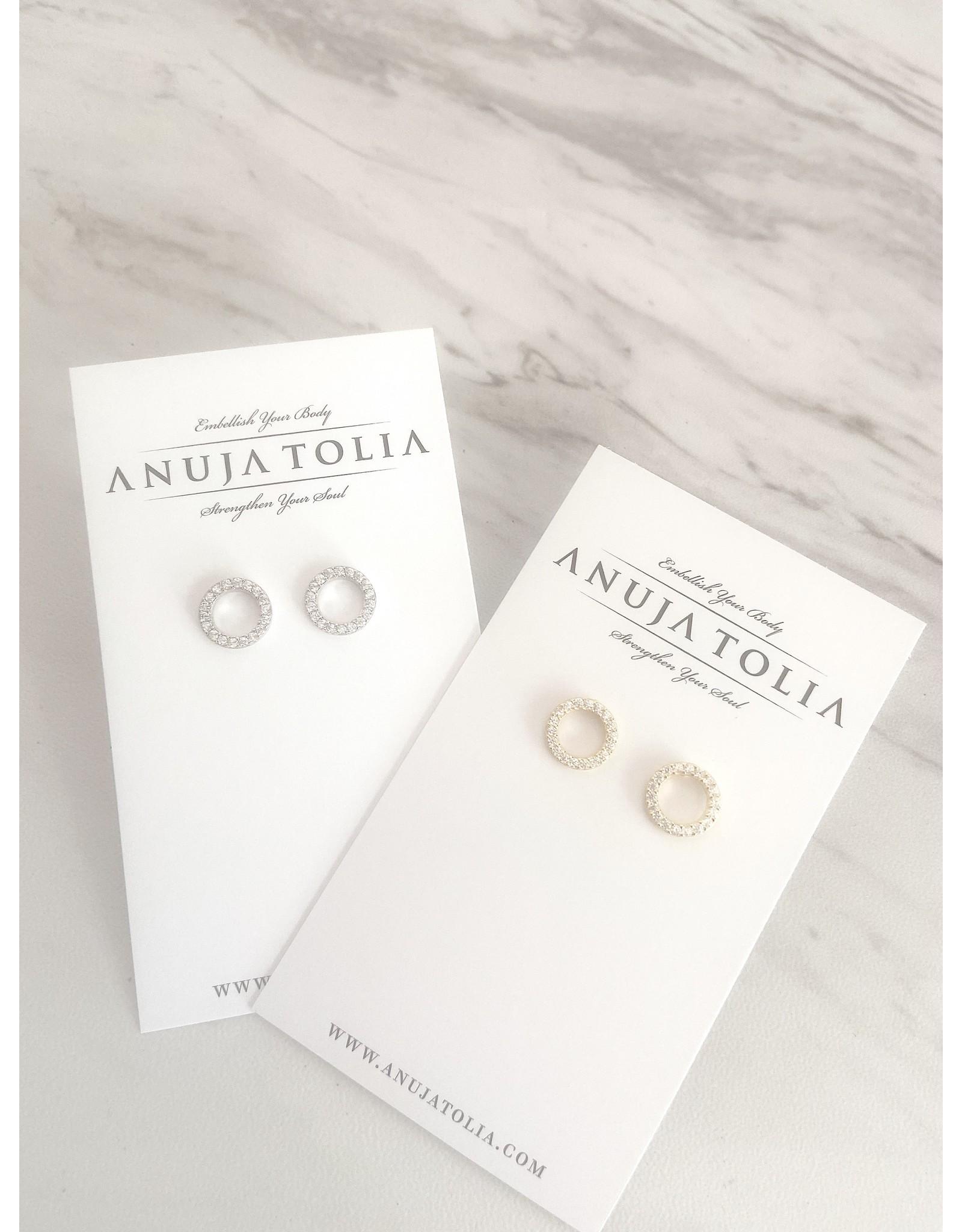ANOUJA TOLIA OPEN CIRCLE EARRING