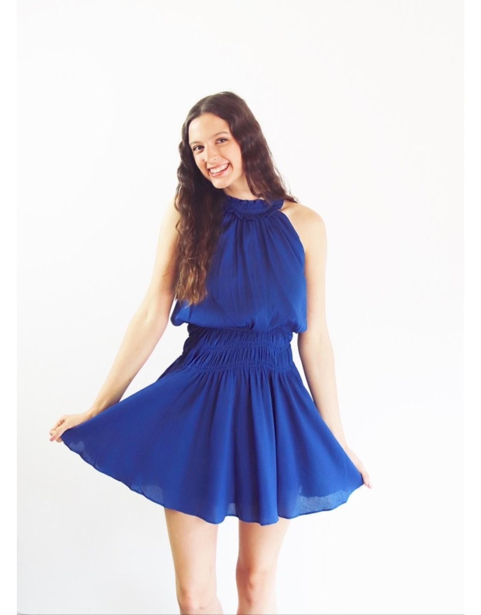 GIANNA HALTER TOP DRESS