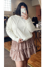 PHYLLIS CABLE KNIT SWEATER