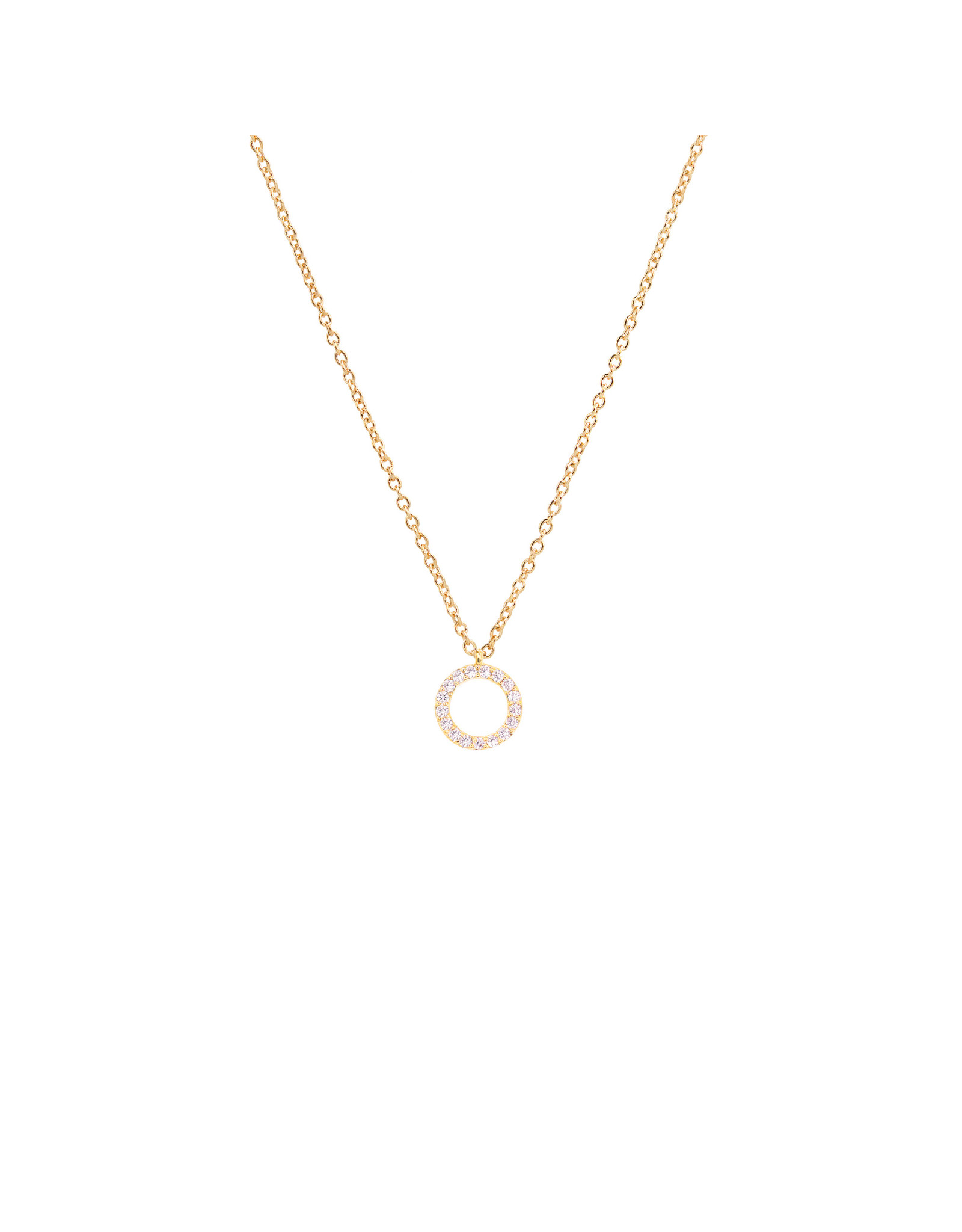 GRIFFIN OPEN CIRCLE NECKLACE