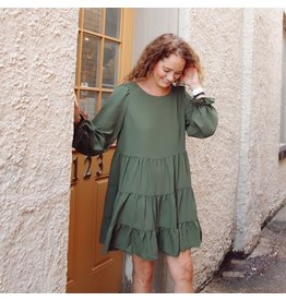 AMAYA TIERED DRESS
