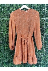 MAXWELL SMOCKED WAIST DRESS