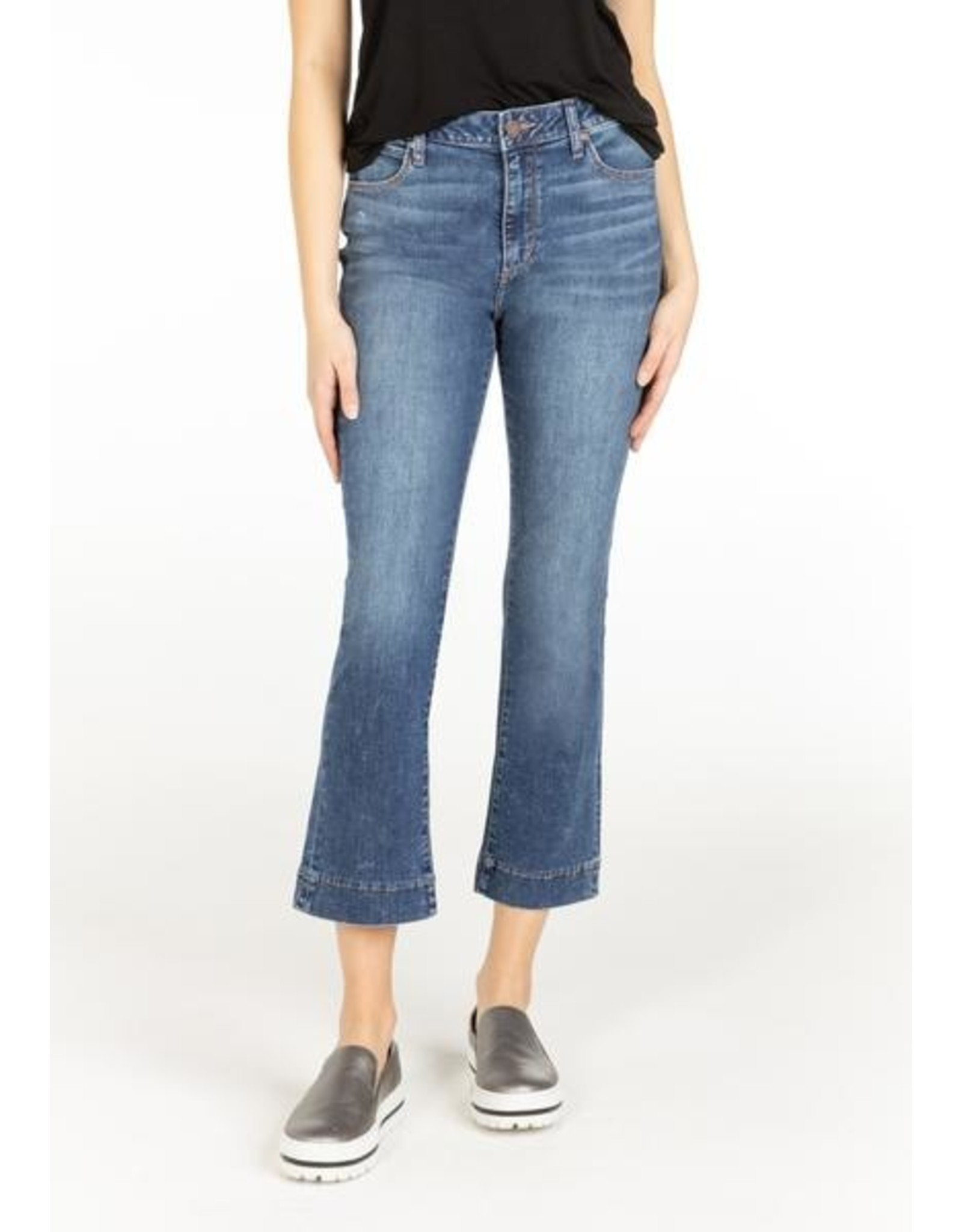 Articles of Society LONDON HIGH RISE CROP DENIM