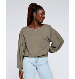 GENTLE FAWN BOWERY LONG SLV TOP