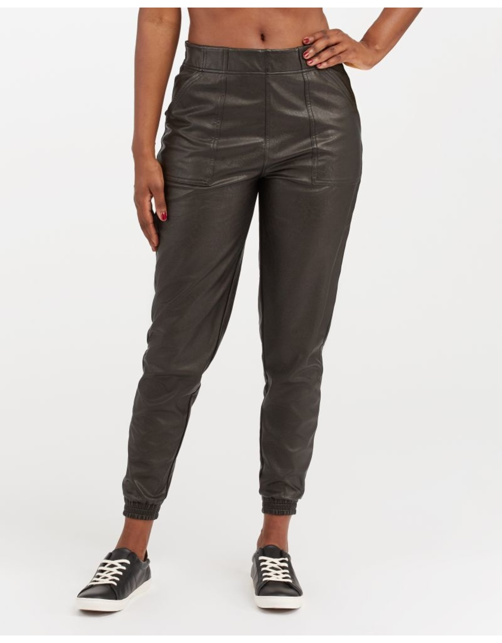 SPANX RHYS LEATHER LIKE JOGGER