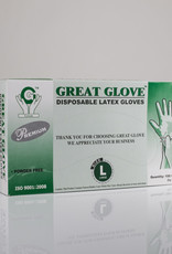 Great Glove Great Glove Latex Gloves - Large - Box