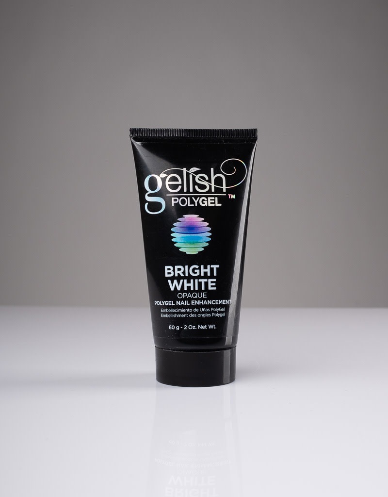 Gelish Gelish Polygel - Bright White Opaque - 2oz