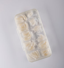ABS ABS Natural Coffin Nail Tip - 550pc