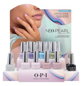 OPI OPI IS - Neo Pearl - Full Collection With Display - 16pc