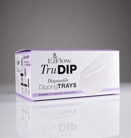 EzFlow EzFlow TruDip - Disposable Dipping Trays - 40pcs