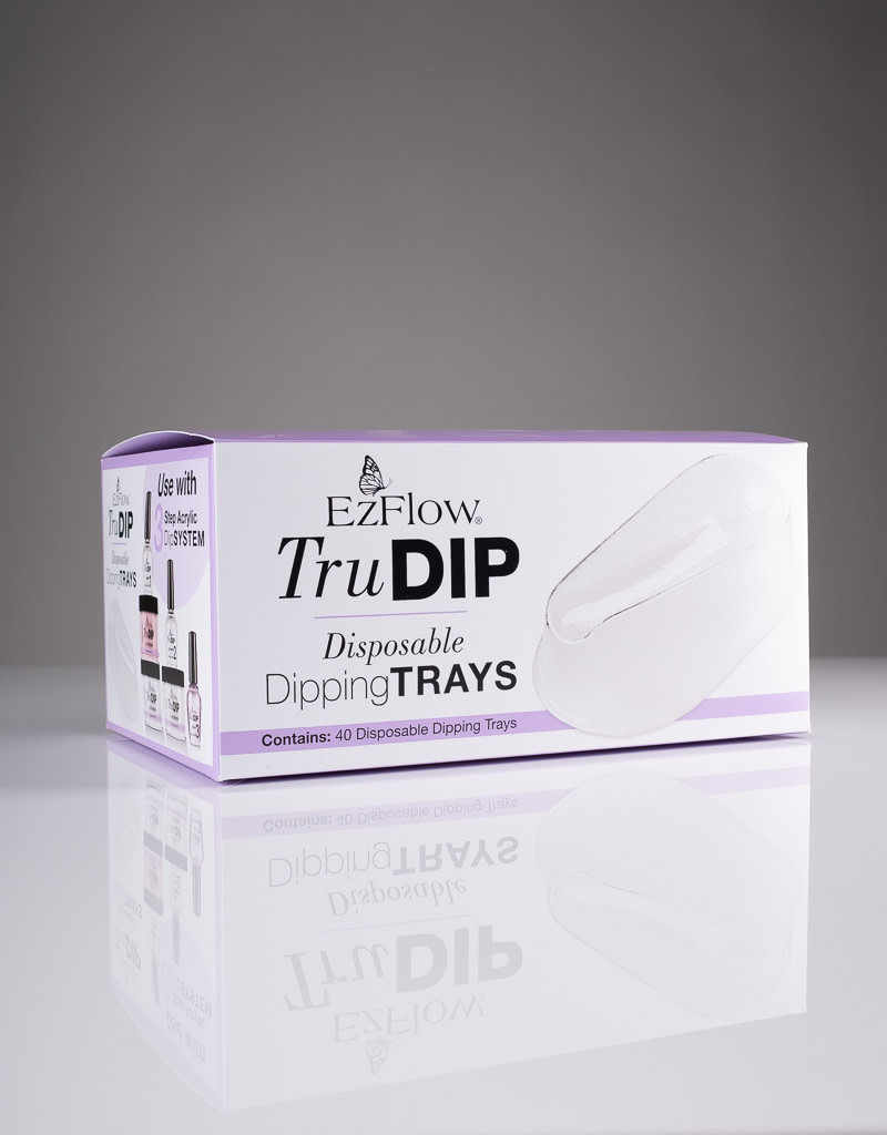 EzFlow EzFlow TruDip - Disposable Dipping Trays - 40pcs