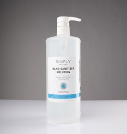 Simply Simply - 80% Alcohol - Liquid Sanitizer - 32oz