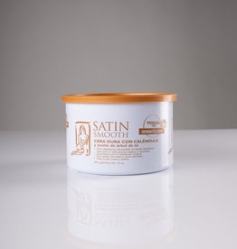 Satin Smooth Satin Smooth Thin Film Hard Wax - Calandula Gold with Tea Tree - 14oz - Single