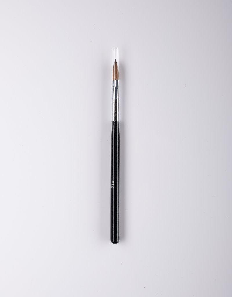 Unik ABS Acrylic Brush - Black #12