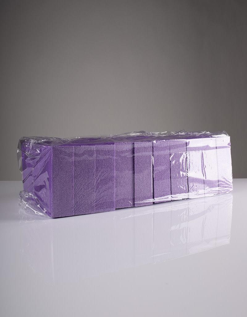 Red Nail Design Red Brand - Slim Buffer Purple - 80/100 - 400pc